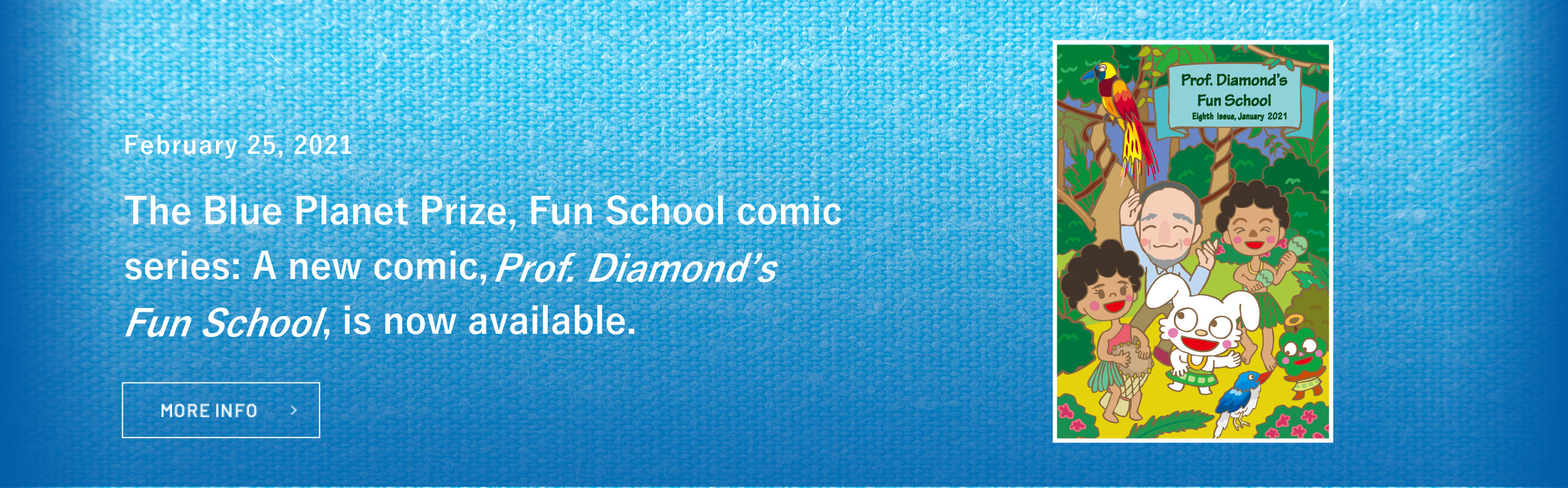 Prof. Diamond's Fun School has been published