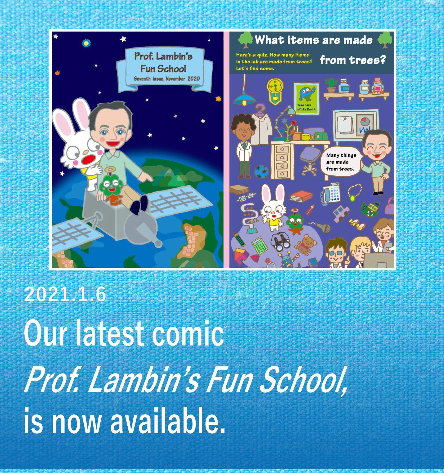 Prof. Lambin's Fun School has been published