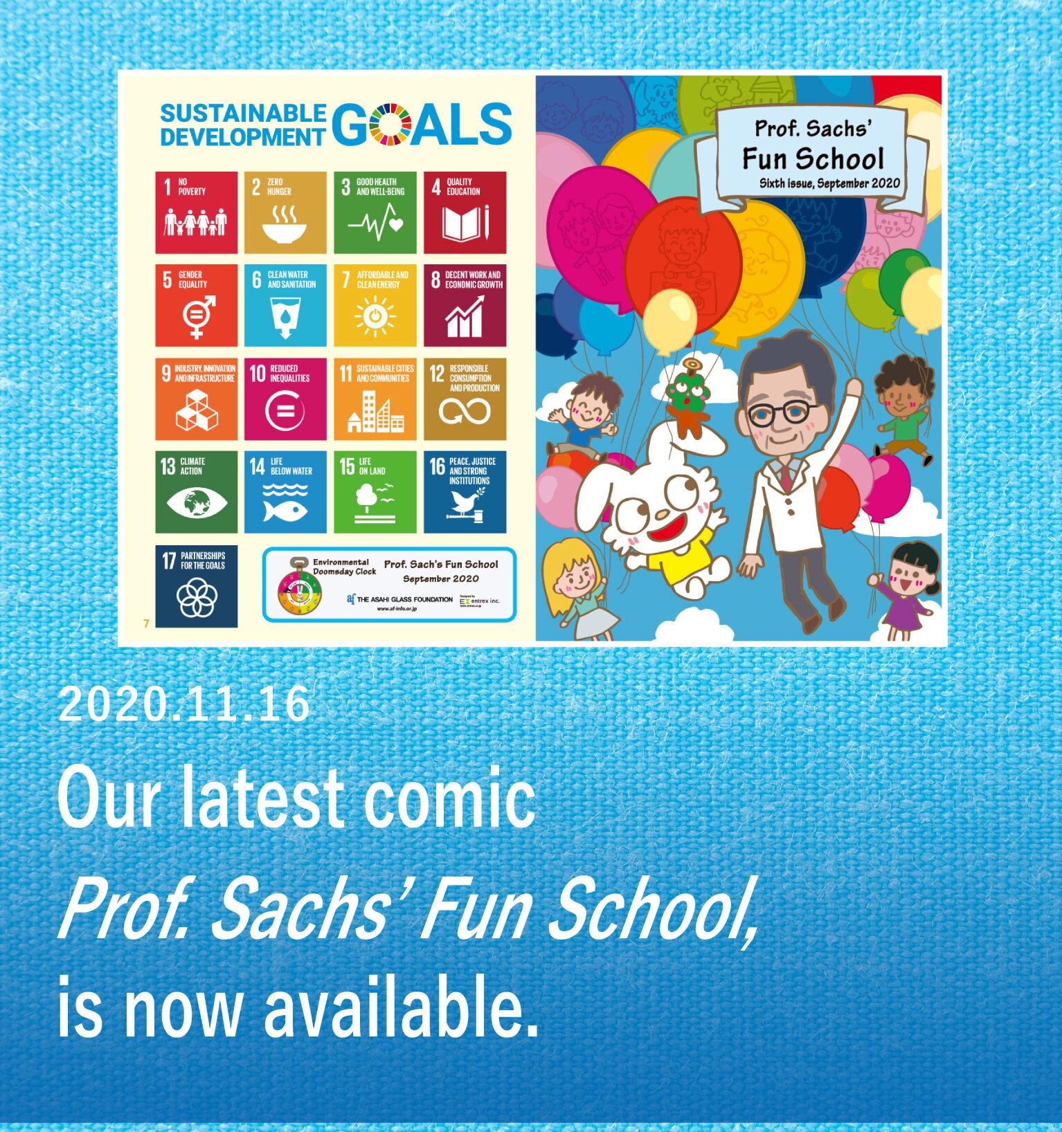 Prof. Sachs' Fun School were published