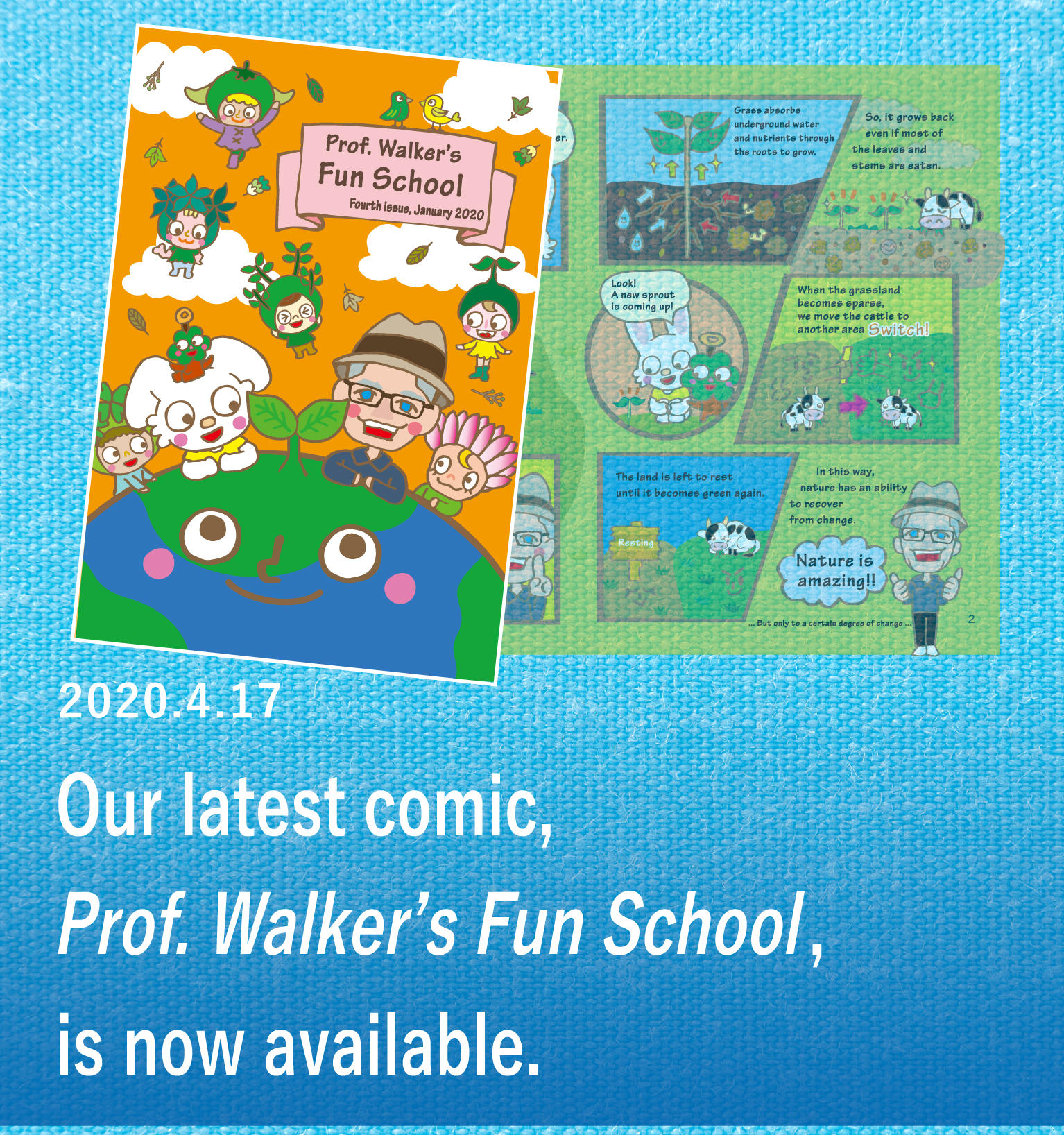 Prof. Walker's Fun School was published