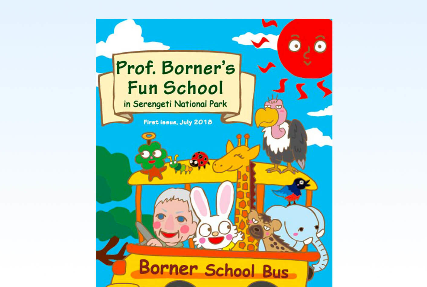 Prof. Borner's Fun School was Published